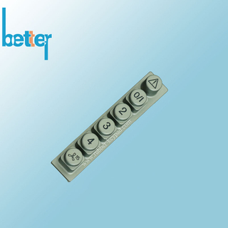 Plastic Elstomer Rubber Laser Carving Keyboard