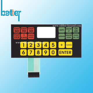 Custom-designed Membrane Switch Panel