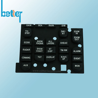 Elstomer Plastic Rubber Laser Etched Switches