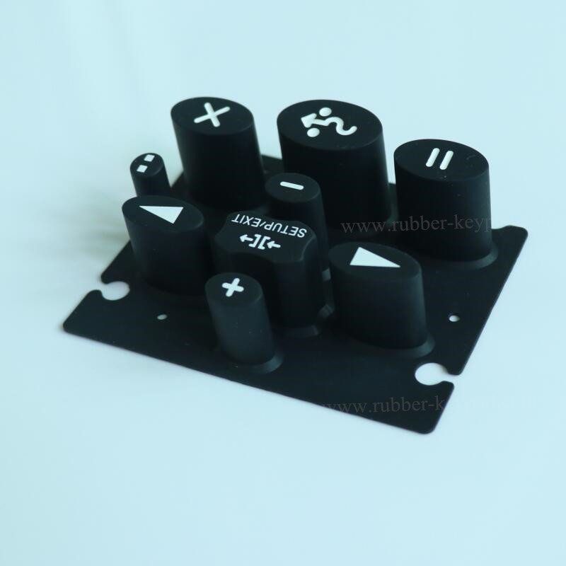 Silk-Screen Printing Rubber Keypad