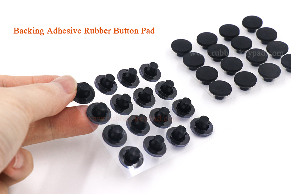 backing adhesive button pad