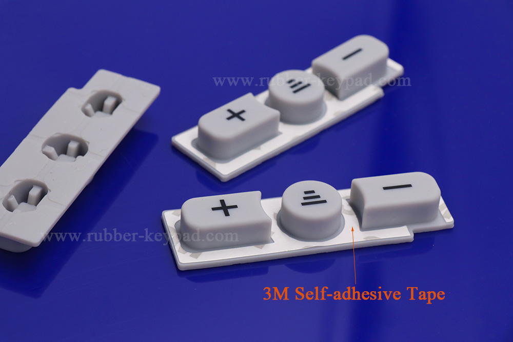 3M self-adhesive rubber button pad