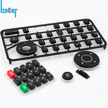 Rubber Keypad with Plastic Button Cover