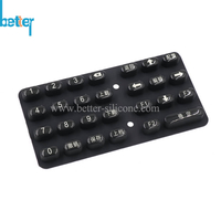 Elastic Silicone Rubber Epoxy Coated Keyboard