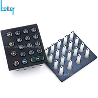 Silicone Rubber Keypads with Epoxy Coating