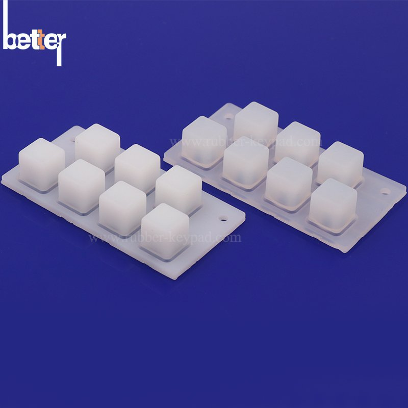 Translucent Silicone Rubber Button Pad