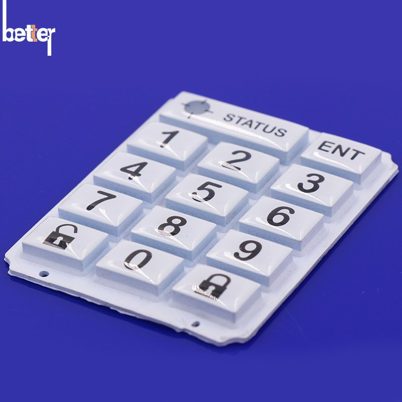 Silicone Rubber Epoxy Coating Keypads