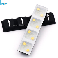 Silicone Conductive Metal Pill Keypad