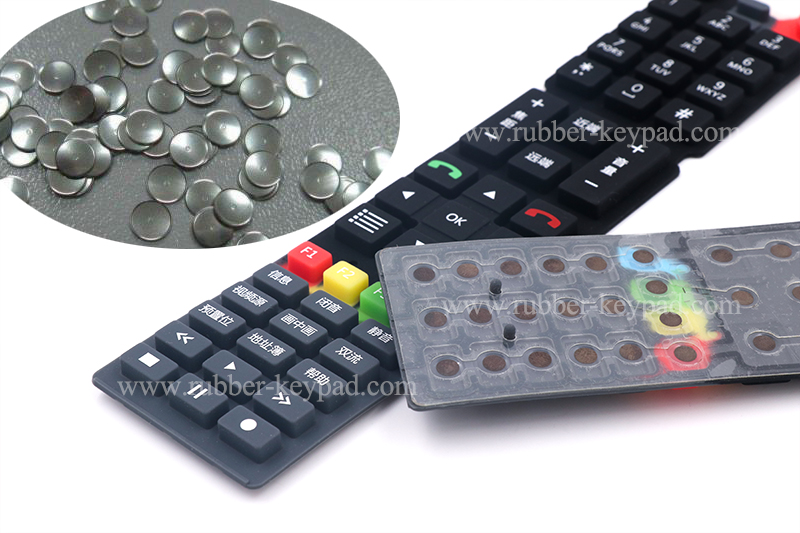 metal dome rubber keypad