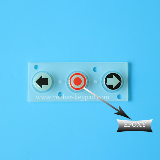 Soft Epoxy Coated Silicone Keys