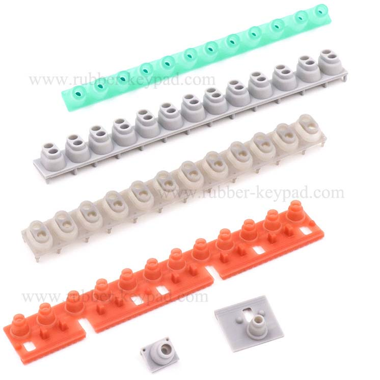 Rubber Contact Strip for Digital Piano Keyboard