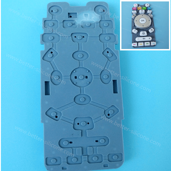 Custom Silicone Keyboard Cover for button pad